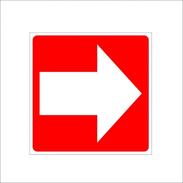 (001) Знак направление