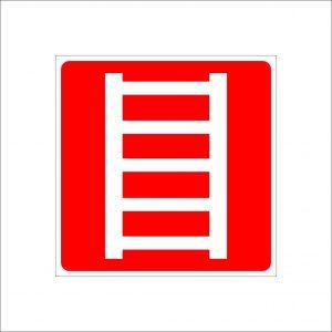 (004) Знак пожарная лестница