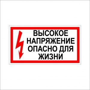 (015) Знак Опасно для жизни!