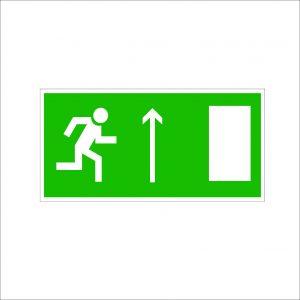 (066) Знак Указатель двери эвакуационного выхода (левосторонний)