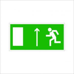 (067) Знак Направление к эвакуационному выходу
