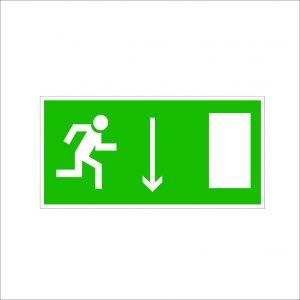 (069) Знак Указатель двери эвакуационного выхода